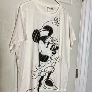 NEW H&M Minnie Mouse Tee shirt XXL cotton